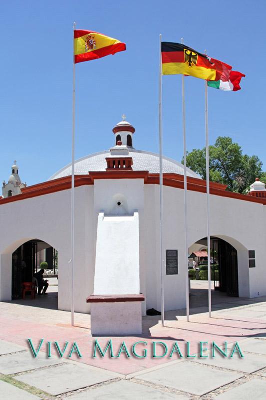 Kino Mausoleum in Magdalena de Kino, Sonora