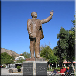 Statue of Luis Donaldo Colosio Murrieta