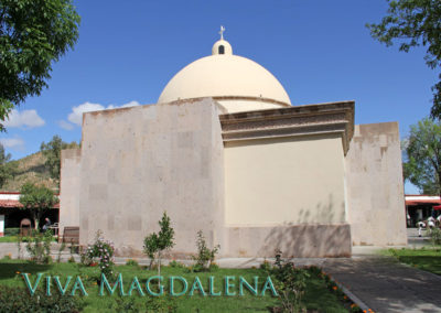 The Capilla de San Francisco in Magdalena de Kino Sonora