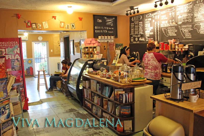Cafe in Magdalena de Kino