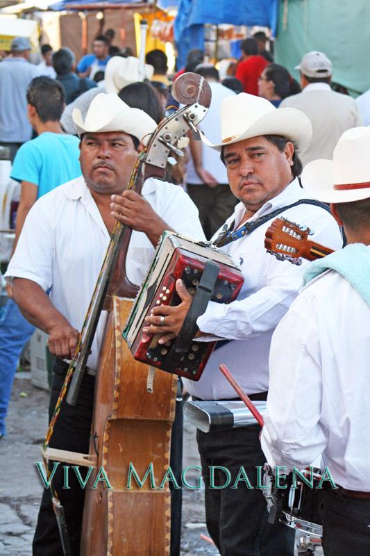 taka taka street musicians at the fiestas de octubre in magdalena de kino sonora