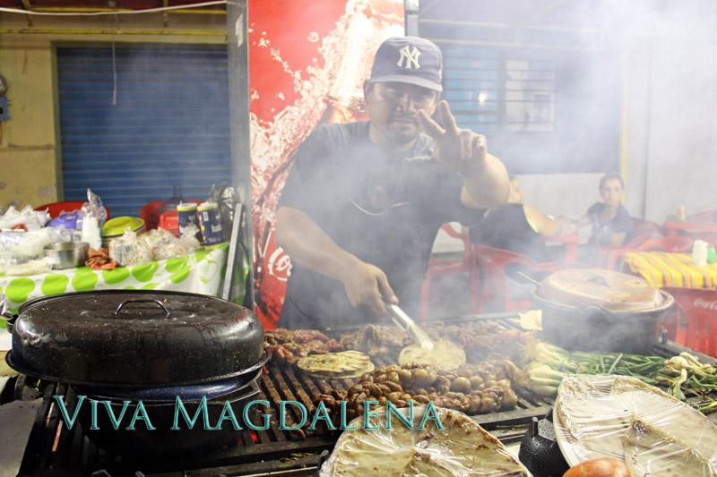 Magdalena de Kino carne asada